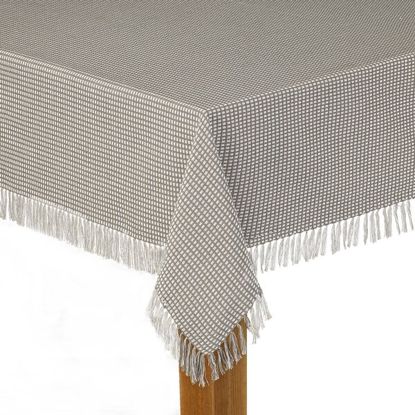 Chesnut 100% Cotton Tablecloth By August Grove.